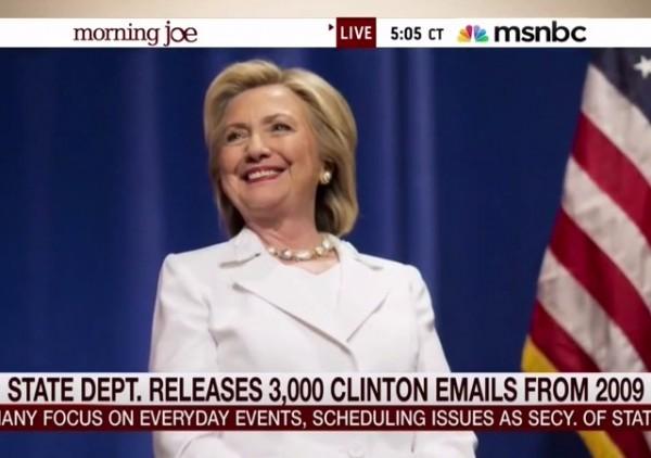 Hillary MSNBC