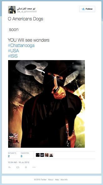 ISIS chattanooga tweet