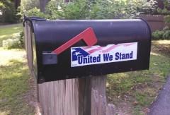Mailbox - United We Stand - Rhode Island