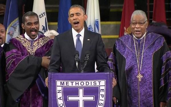 Obama-Amazing-Grace