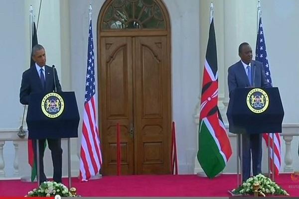 Obama |Gay Rights in Africa | Kenyatta