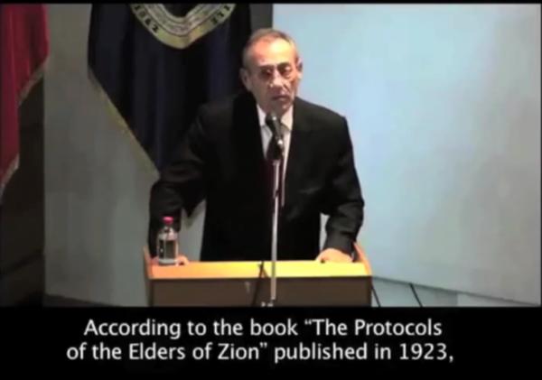 Palestinian Envoy Chile Protocols of Elders of Ziyon