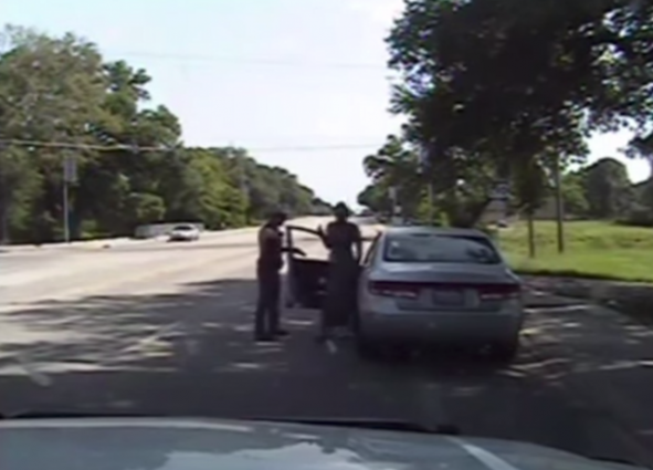 Sandra Bland arrest video 7-24-15