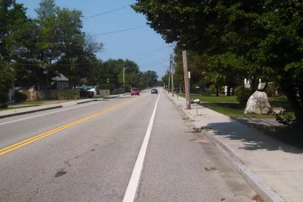 Sidewalks Stimulus Plan Warren RI 2015