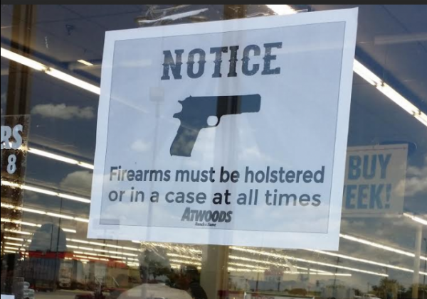Sign - Texas - Holster Guns