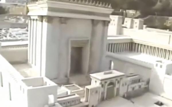 The Jewish Temple, replica Jerusalem