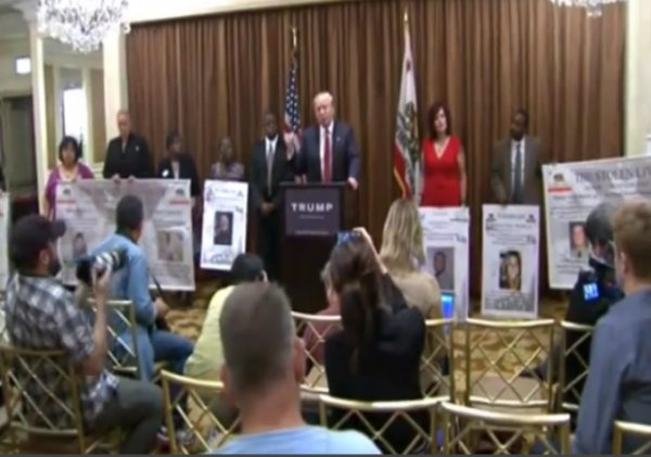 Trump Press Conference Families of Victims of Illegal Immigrants