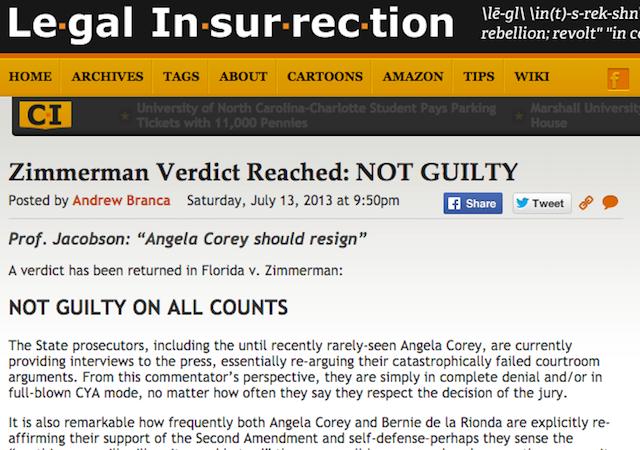 Zimmerman acquittal 2-year anniversary