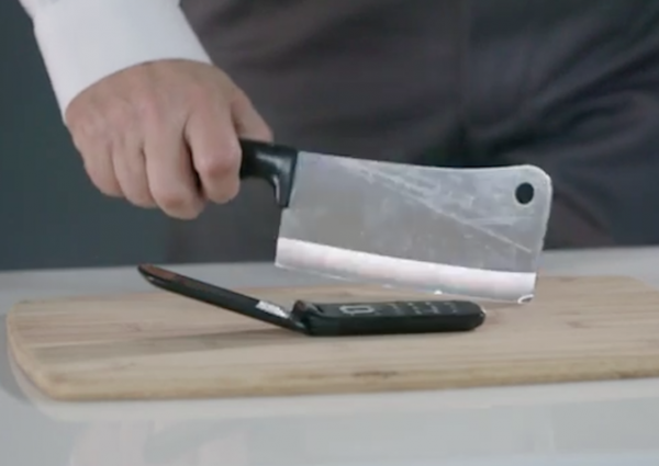 lindsey graham cell phone meat cleaver