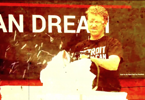 rand paul chainsaw