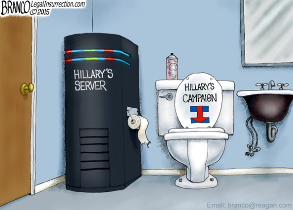 Hillary Server Trouble