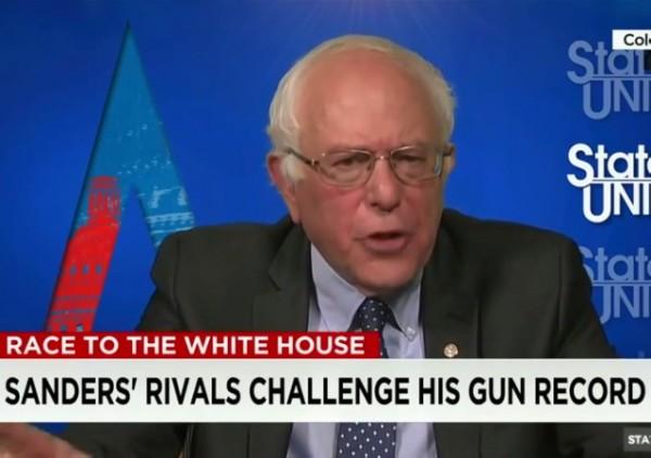 Bernie Sanders gun control