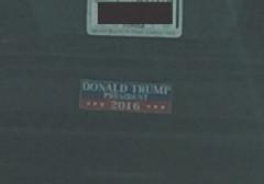 Bumper Sticker - Florida - Trump President 2016