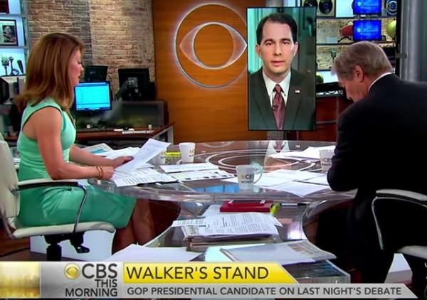 CBS Scott Walker