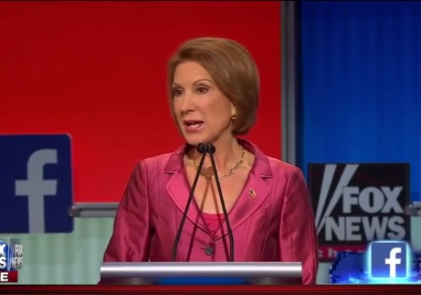 Carly Fiorina Happy Hour Debate