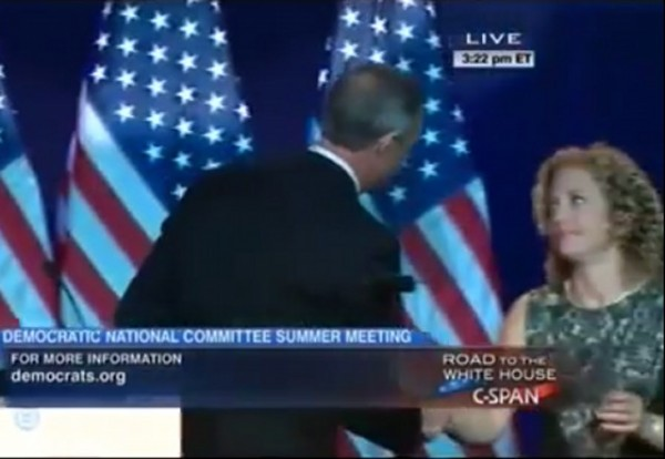 Debbie Wasserman Schultz and O'Malley