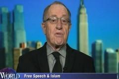 Dershowitz on free speech and Islam
