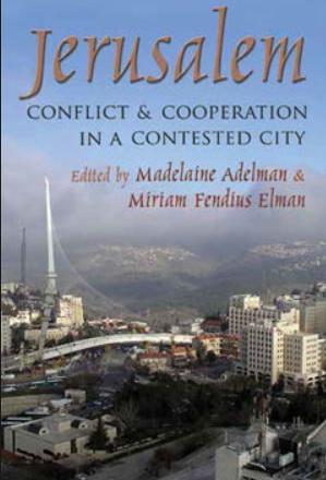 Elman book on Jerusalem, cover