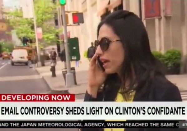 Huma Abedin on CNN