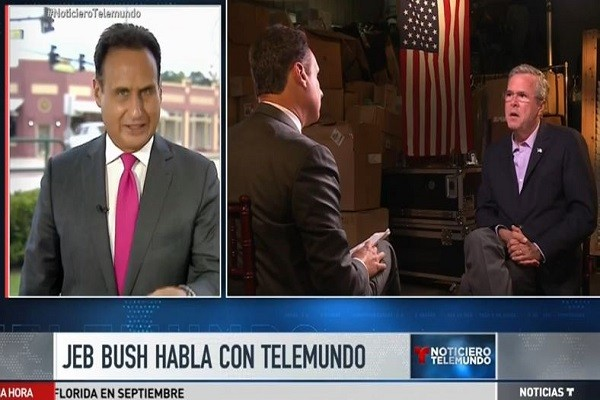 Jeb! on Telemundo