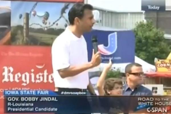 Jindal in Iowa