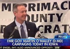 Martin O'Malley Iowa