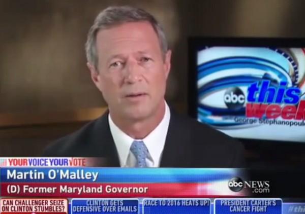 Martin O'Malley on ABC News