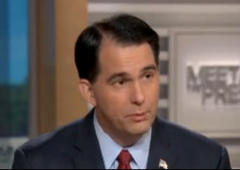 Scott Walker Meet the Press Border Fence Legitimate Issue GOP President Campaign Border Security Republican 2016 Wisconsin Governor