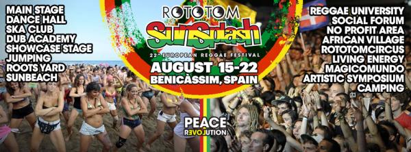 Spanish Reggae Festival Rototom Facebook Page Banner