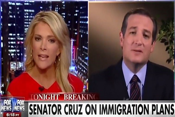 Ted Cruz on Megyn asking liberal journalist questions