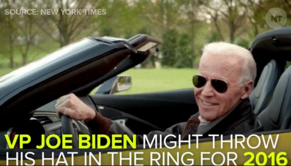 Vice President Joe Biden Presidential Campaign 2016 Will he run