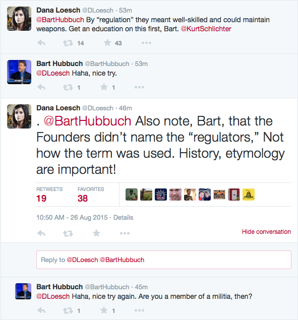 bart hubbuch gun control tweets