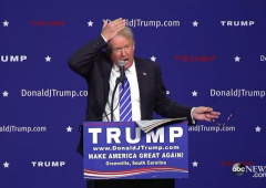 donald trump toupee real hair barbara walters republican 2016 president candidate campaign