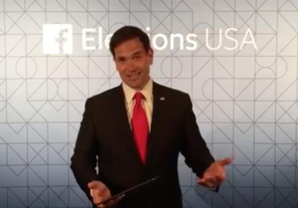 marco rubio facebook election