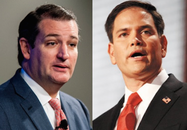 rubio cruz side by side