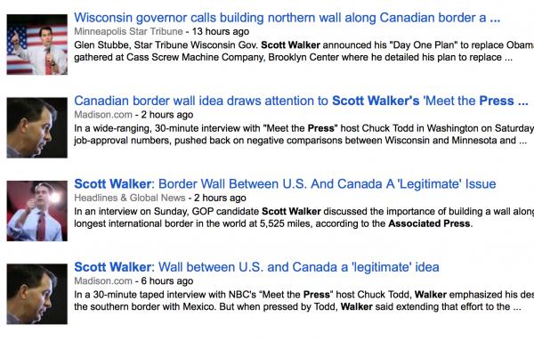 scott walker headlines immigration reform border security associated press wall canada