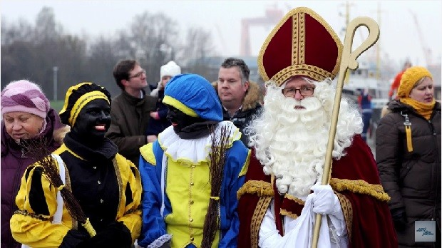 Christmas In Holland.United Nations Holland Dutch Christmas Racism