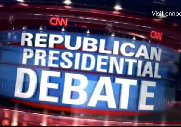 CNN debate main stage trump fiorina top candidates hugh hewitt donald trump