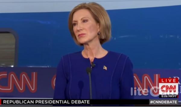 Carly Fiorina CNN Debate