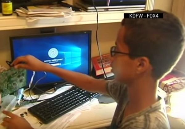 Clock Muslim Teen