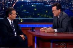 Cruz on the Late Show