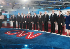 GOP Debate Main Event Candidates On Stage