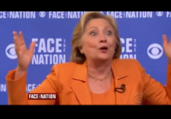 Hillary Clinton I am a Real Person Face the Nation