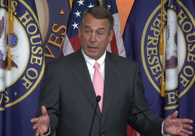 John Boehner Resignation Press Conference