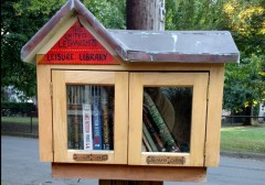 [Little Library, Ithaca, NY]