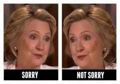 hillary clinton apologizes for her email server changes mind scandal democrat 2016 nominee campaign