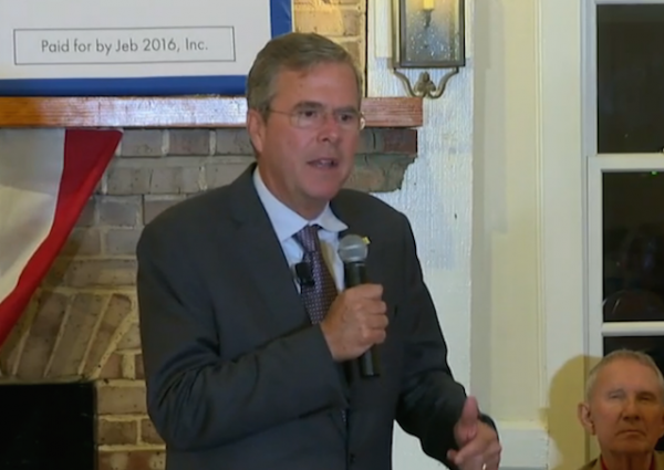 jeb bush september 2015