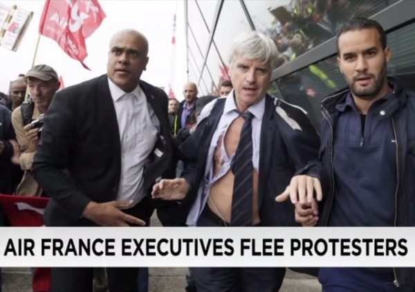Air France union activists