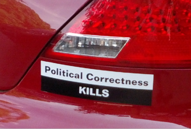 Bumper Sticker - New Bern NC - Political Correctness Kills