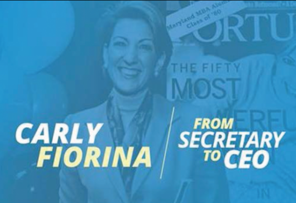 Carly Fiorina From Secretary to CEO cover cropped